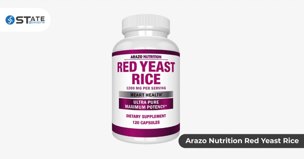Arazo Nutrition Red Yeast Rice
