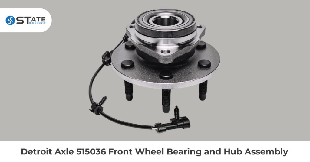 Detroit Axle 515036 Front Wheel Bearing and Hub Assembly