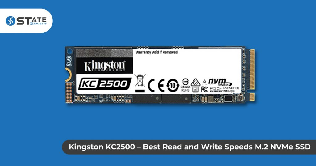 Kingston KC2500 – Best Read and Write Speeds M.2 NVMe SSD