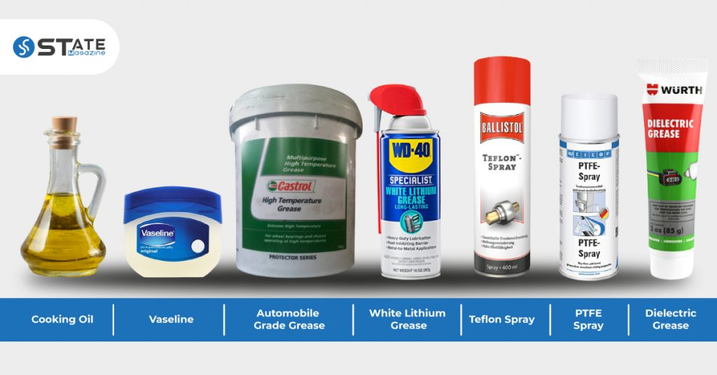 lubricants that can be found in your home